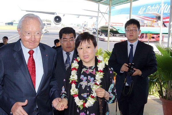 Délégation chinois à Tahiti