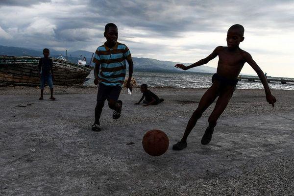 haiti enfant