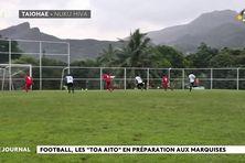La sélection de foot de Tahiti aux Marquises