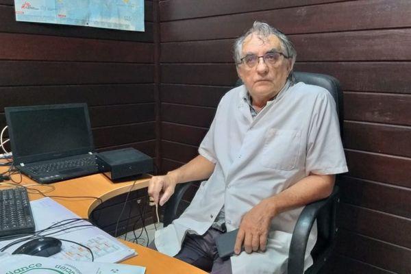 Bernard Ressier, médecin volontaire à Roura