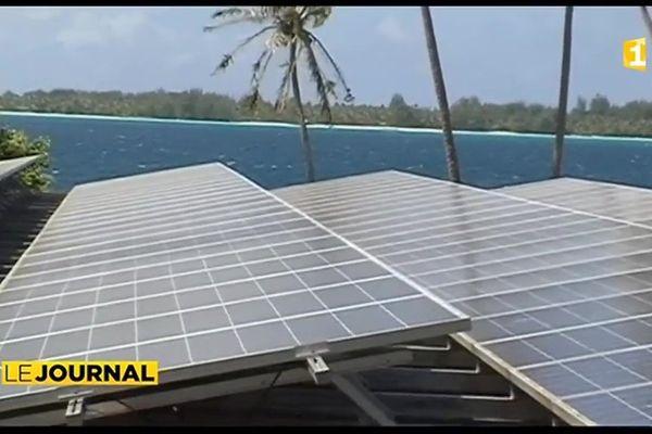 Bora Bora s'équipe du premier osmoseur solaire de la région