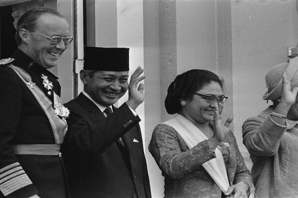L'ancien président indonésien Suharto