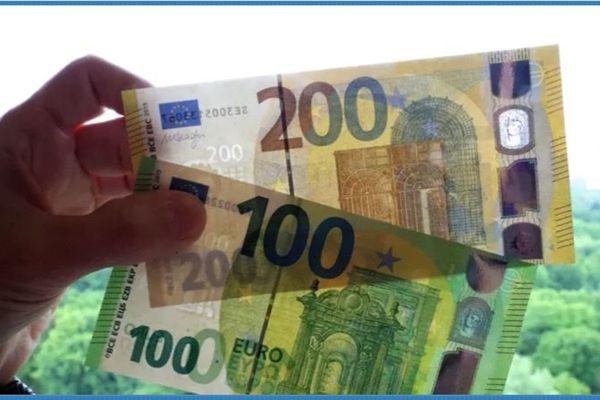 Billets 100 et 200 euros