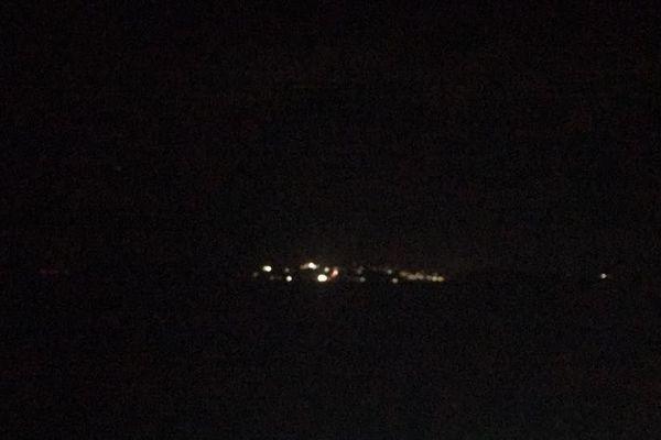 Mayotte dans le noir