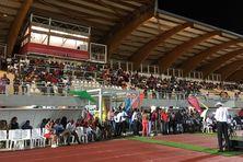 La foule des grands jours au stade Jacques Ponrémy