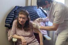 Sur les 41 résidents de la Maison Eglantine, 25 ont souhaité se faire vacciner.
