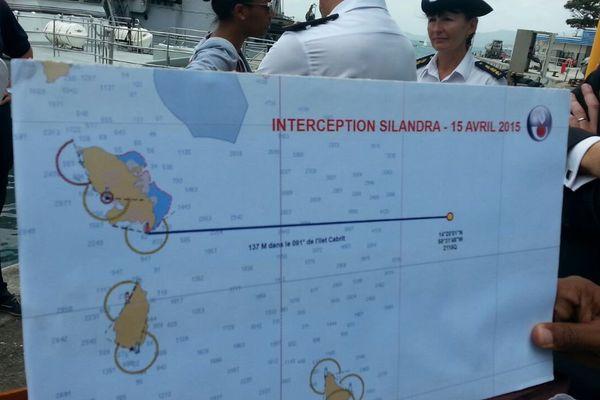 Carte de la mer des Antilles