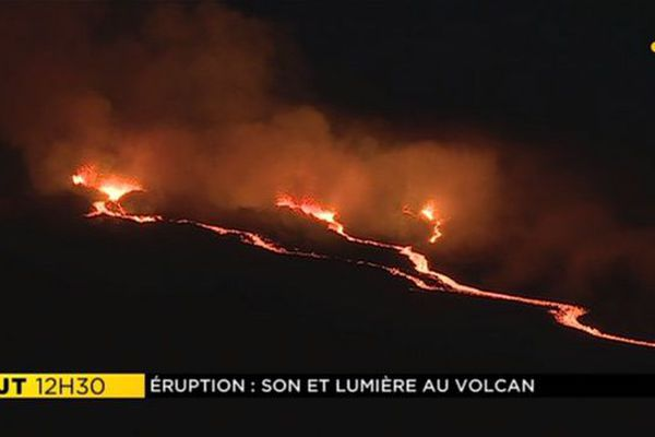 Eruption volcan 280418 2eme nuit