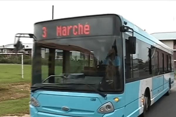 Un bus à Cayenne