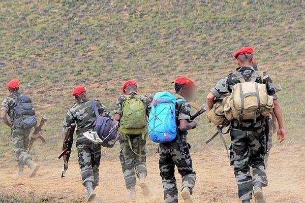 Militaires malgaches en zone rouges chargés de la lutte contre l'insécurité