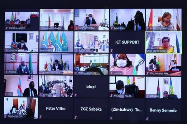 Visioconférence du SDAC avant les élections présidentielles aux Seychelles et Tanzanie