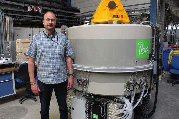 Frederic Jodocy et cyclotron de basse énergie
