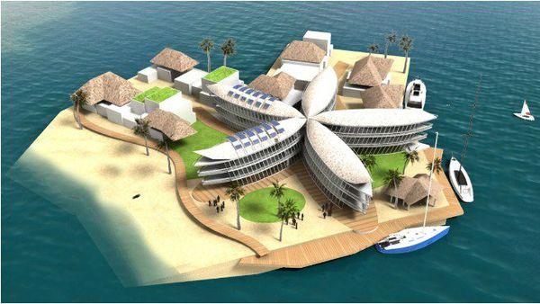 ville du futur en Polynésie