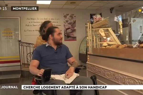 Logement : le parcours du combattant d'un étudiant tétraplégique en France