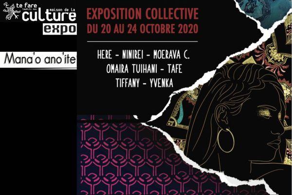 Mana'o Ano'ite, une exposition collective d'artistes du Centre des Métiers d'Art