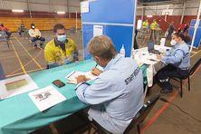 Vaccinodrome à l'usine du Sud, le 29 septembre.