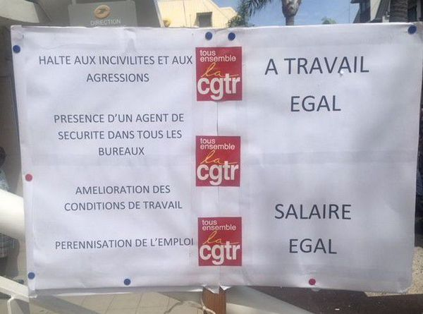 Grève La Poste