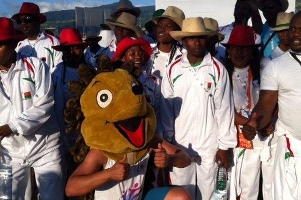 Ti Bayoun, la mascotte des Jeux