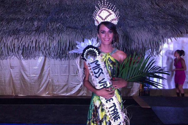 Tepoea TEikiteepupuni remporte l'élection Miss Vahine Tane 2016