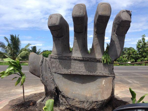 Les mains de Faa'a