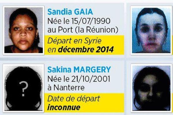 Sandia Gaia djihadiste recherchée