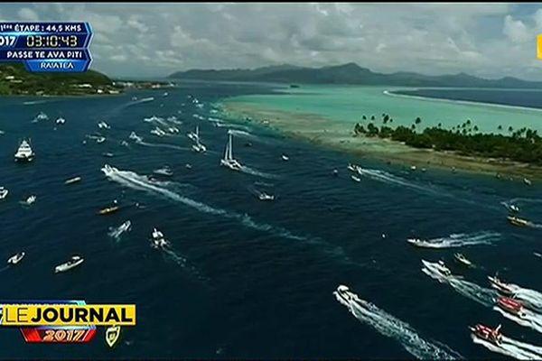 Air Tahiti, vainqueur surprise de la première étape d'Hawaiki nui