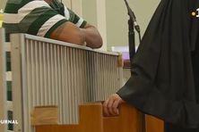 Yannick Mai et son avocat, lors de son procès.
