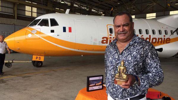 Papa Sierra l'ATR de Air Calédonie part pour le Népal, avec la compagnie Buddha Air: Samuel Hnepeune (18 janvier 2017)