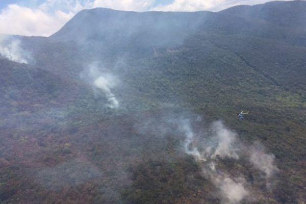 Incendie Tontouta 30/10/17