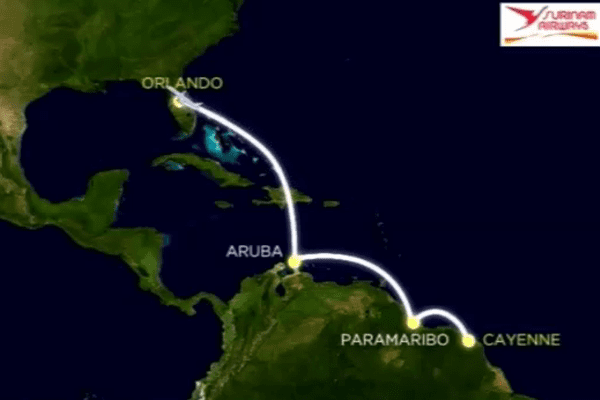 Ligne Cayenne Orlando