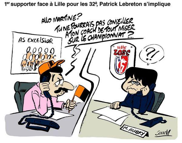 Souch sur tirage au sort Excelsior/coupe de France
