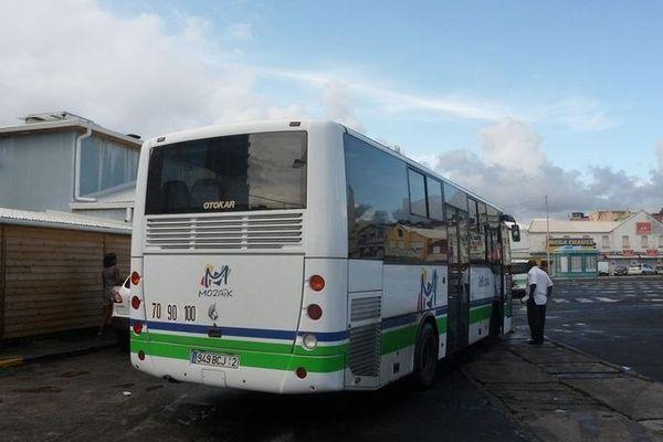 Bus à Fort de France
