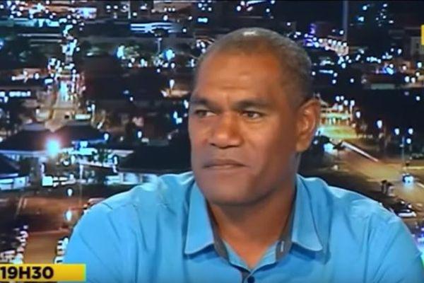 Alcide Ponga, maire de Kouaoua