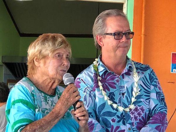 Michèle De Chazeaux et Gérald Prufer, directeur régional