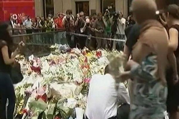 Australie hommage otages tués