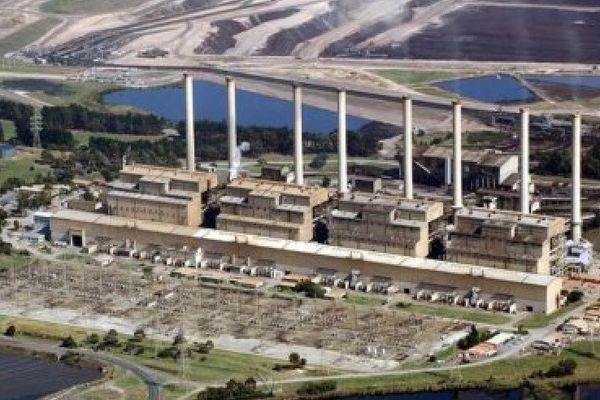 Australie. Centrale au charbon Hazelwood