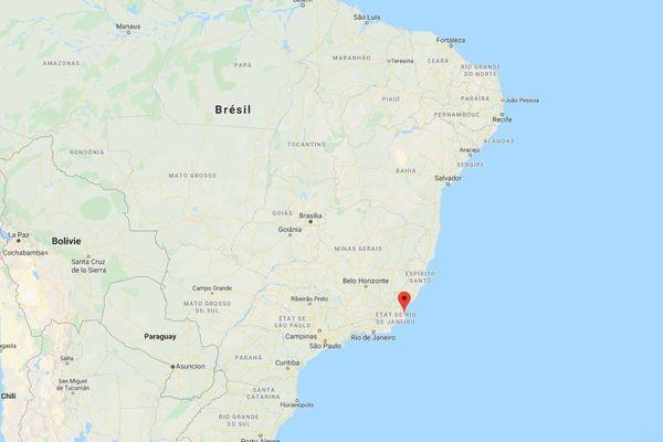 brésil marée noire rio