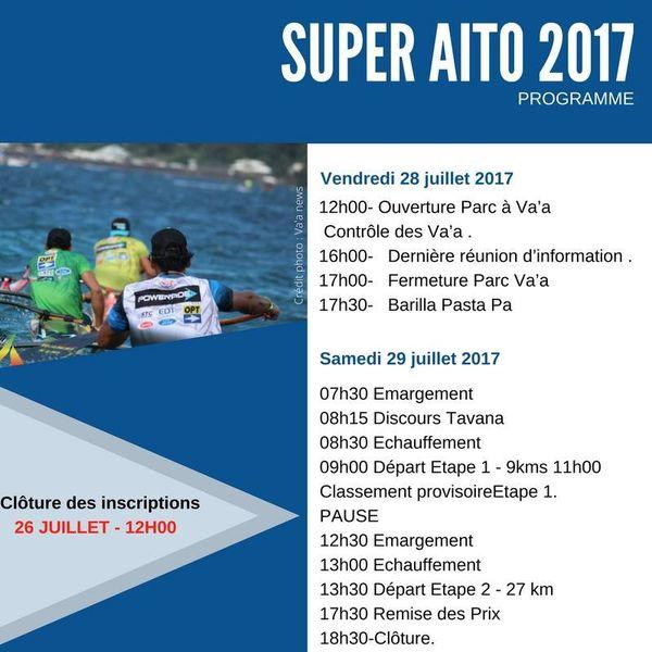Programme Super Aito 2017