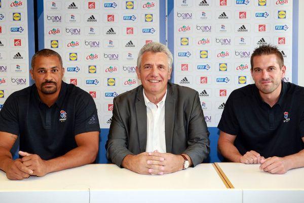 Didier Dinart, Claude Onesta et Guillaume Gille
