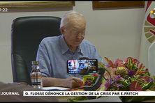 Gaston Flosse critique a gestion de la crise sanitaire