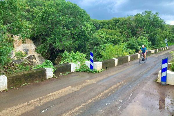 Ravine de la Petite Ile crue modérée
