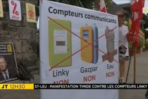 Compteur Linky EDF mani Attac Réunion 09 06 18