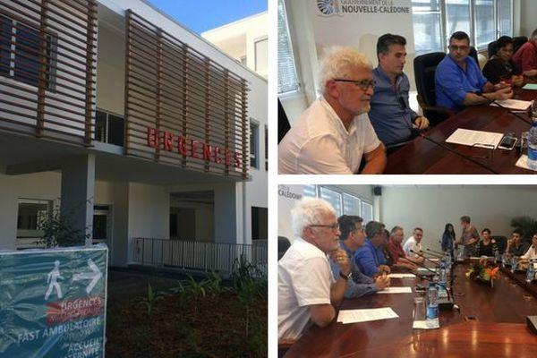 Accord trouvé sur l'ouverture clinique Ile Nou Magnin