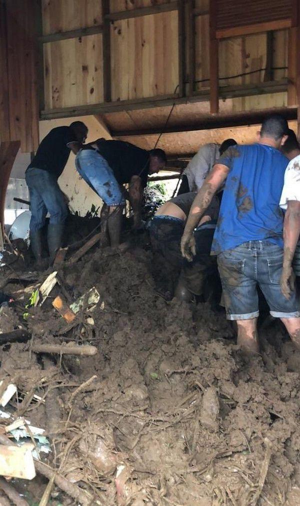 Fakir décès coulée de boue Etang Salé
