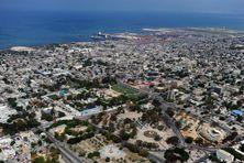 Vue aérienne de Port-au-Prince