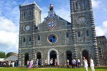 La cathédrale de Mata Utu - District de Hahake - Wallis