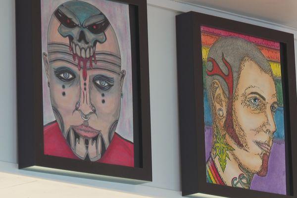 Jean-Pierre Plaa professeur des écoles à washington dévoile sa passion pour le dessin