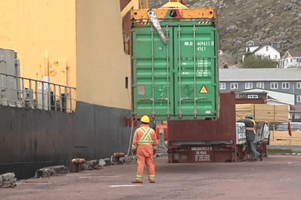 container port saint-pierre