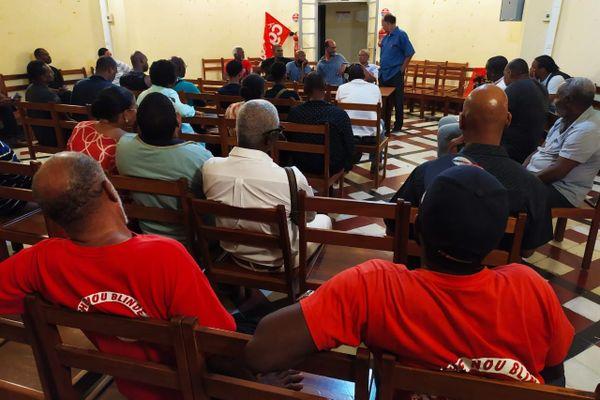 Réunion syndicat pétrolier 3 16 janvier 2020