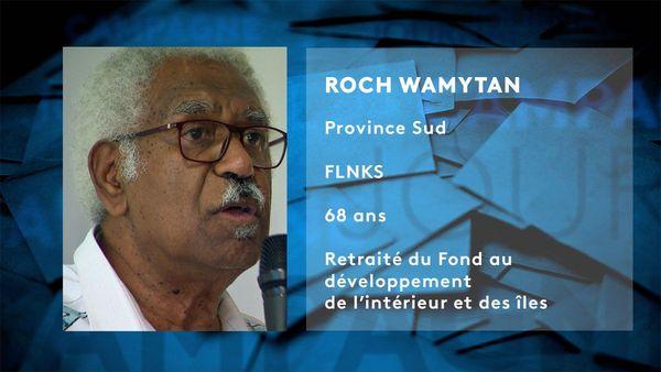 Provinciales 2019: fiche candidat de Roch Wamytan